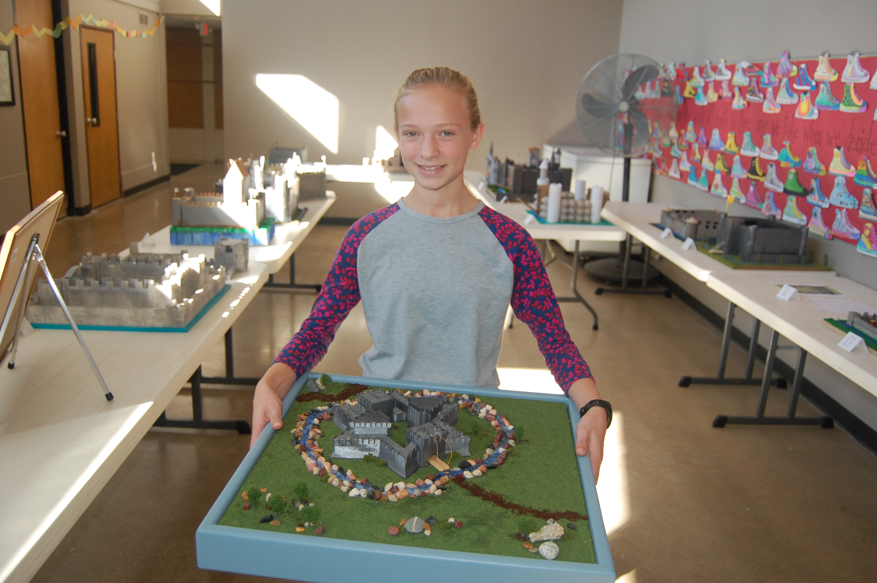 7th Grade Medieval Castle Project - Isaac Newton Christian